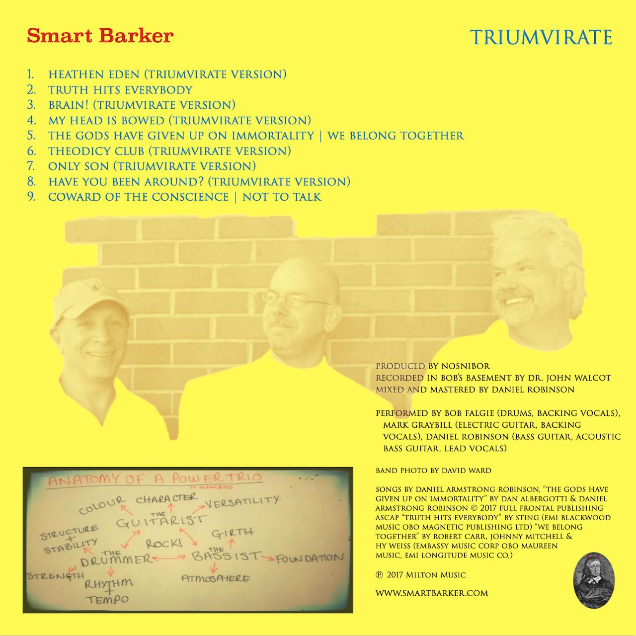 Triumvirate back cover